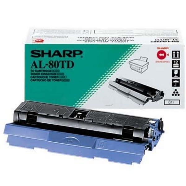 Sharp AL-80TD Toner black, 3K pages