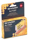 Sharp AJT20Y Ink cartridge yellow, 350 pages @ 5% coverage