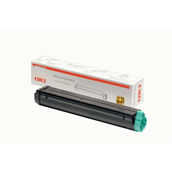 Oki 01103402 (TYPE9) Toner black, 2.5K pages @ 5% coverage