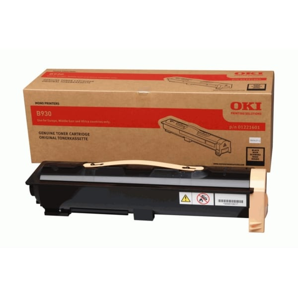 Oki 01221601 Toner black, 33K pages