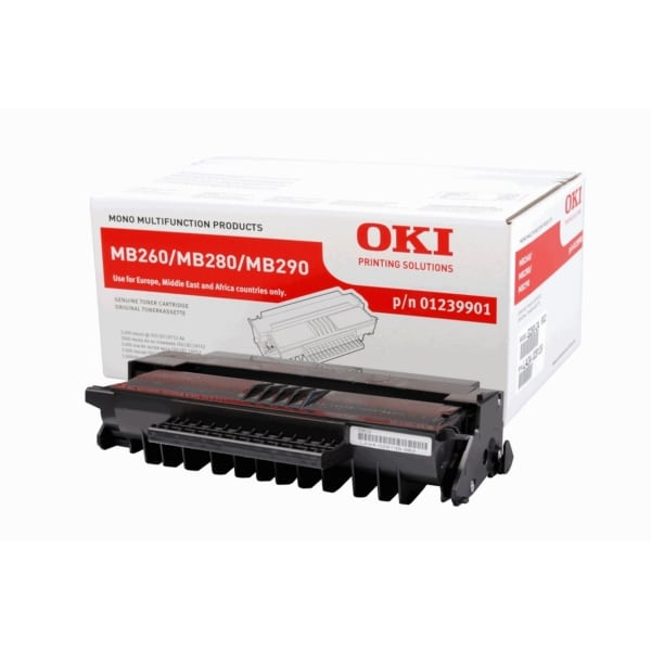 Oki 01239901 Toner black, 3K pages