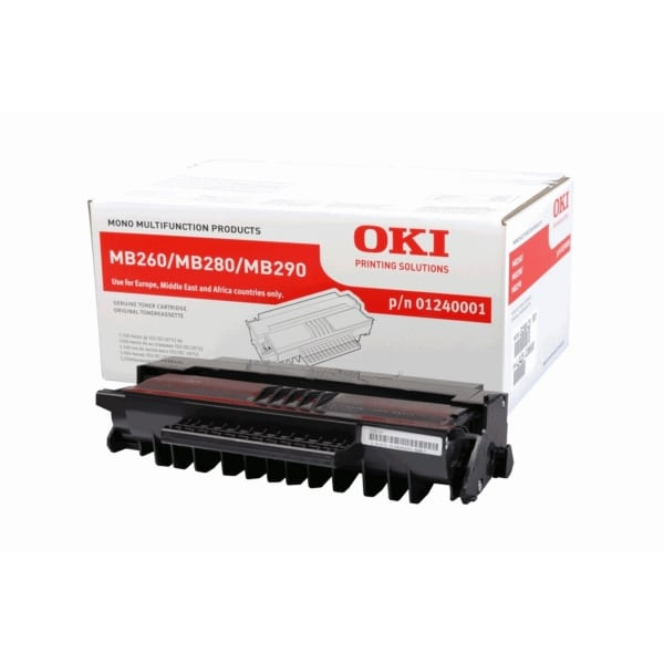 Oki 01240001 Toner black, 5.5K pages