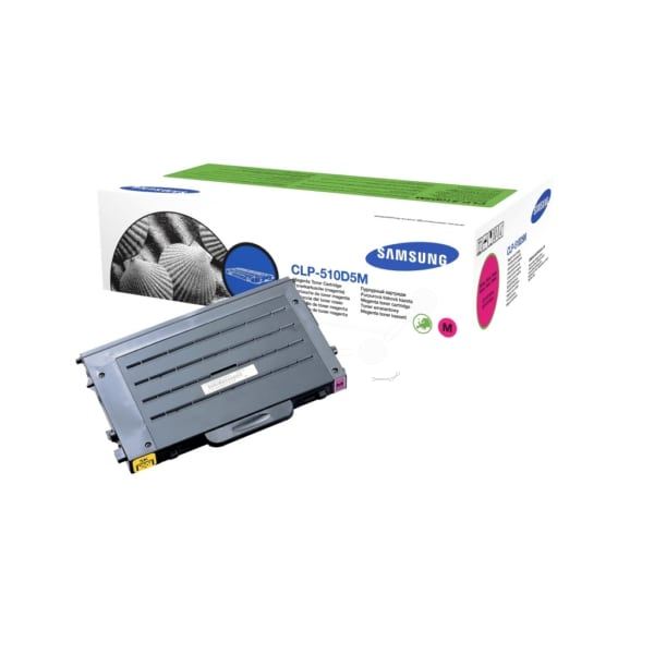 Samsung CLP-510D5M/ELS Toner magenta, 5K pages @ 5% coverage