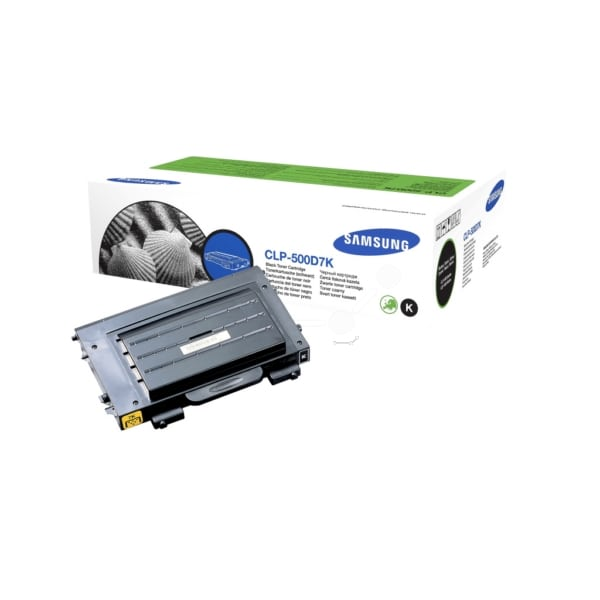 Samsung CLP-500D7K/ELS Toner black, 7K pages @ 5% coverage