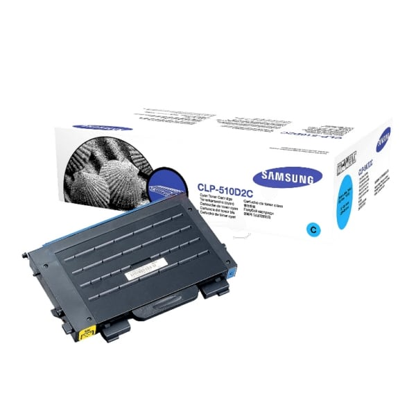 Samsung CLP-510D2C/ELS Toner cyan, 2K pages @ 5% coverage