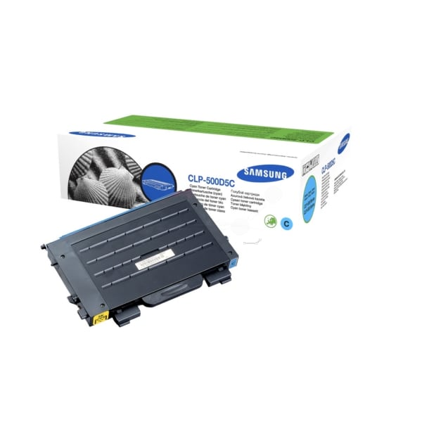 Samsung CLP-500D5C/ELS Toner cyan, 5K pages @ 5% coverage