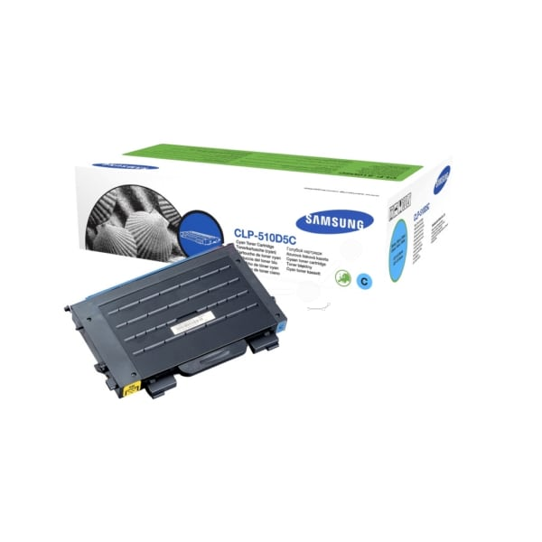 Samsung CLP-510D5C/ELS Toner cyan, 5K pages @ 5% coverage