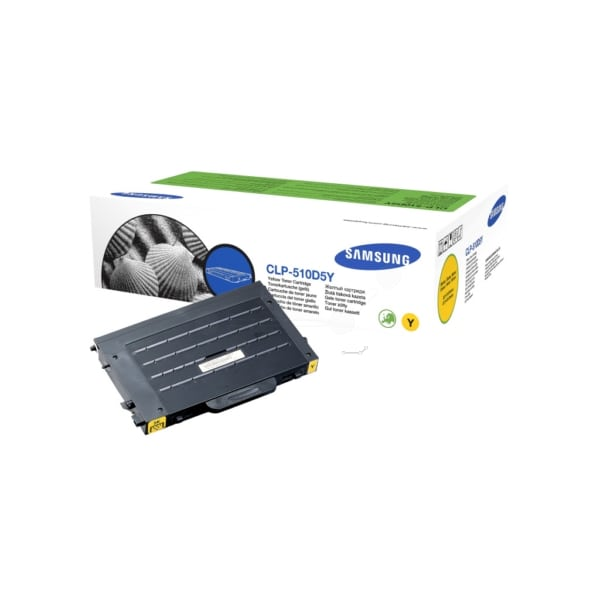 Samsung CLP-510D5Y/ELS Toner yellow, 5K pages @ 5% coverage