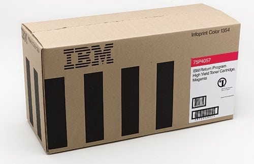 IBM 75P4054 Toner yellow, 6K pages @ 5% coverage