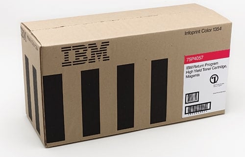 IBM 75P4058 Toner yellow, 15K pages @ 5% coverage