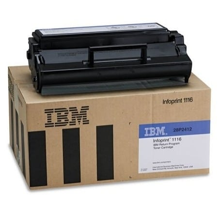 IBM 28P2412 Toner black, 3K pages @ 5% coverage