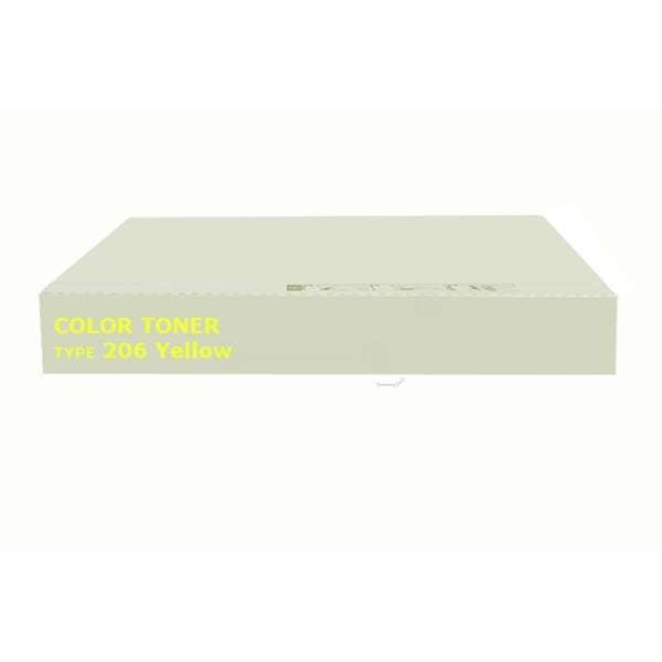 Ricoh 400510 (TYPE 206) Toner yellow, 7.2K pages @ 5% coverage