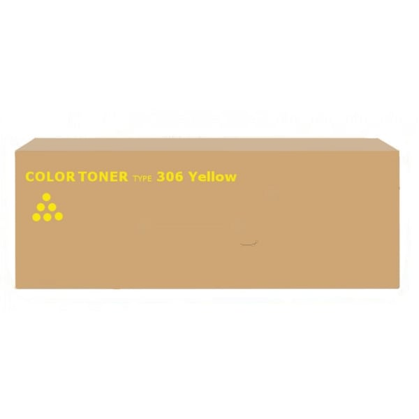 Ricoh 400494 (TYPE 306) Toner yellow, 15K pages