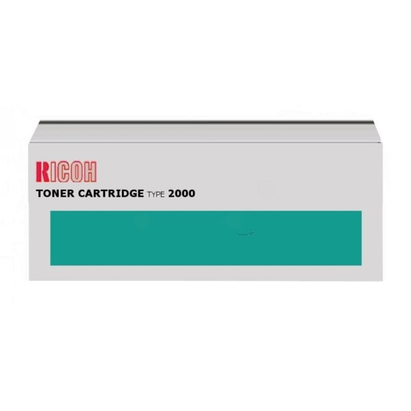 Ricoh 400395 (TYPE 2000) Toner black, 14K pages @ 5% coverage