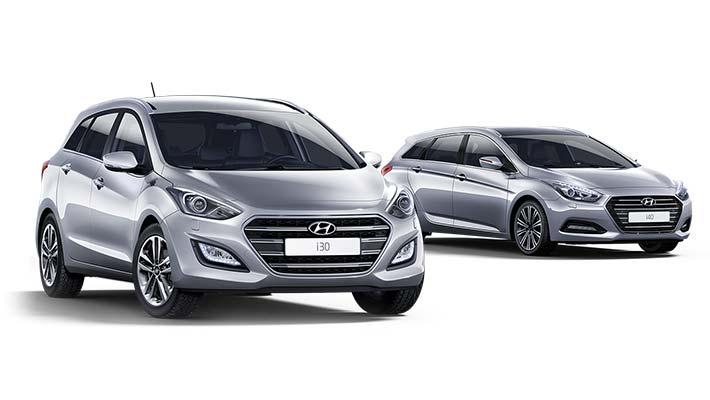 Leveransklara Hyundai i30 och i40