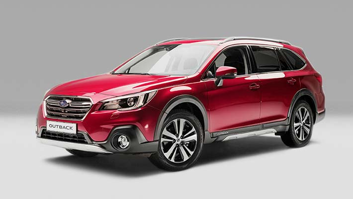 Nya Subaru Outback 2018