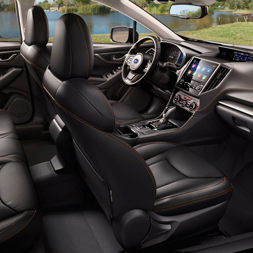 Nya Subaru XV - interiör