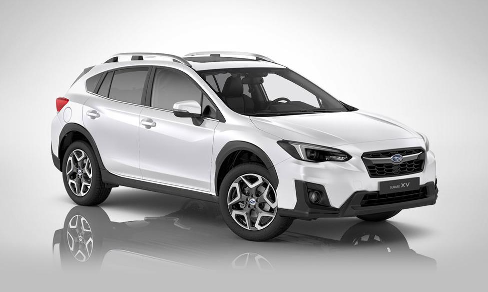 Subaru XV Ridge - white pearl - vinterhjul och motorvärmare på köpet!