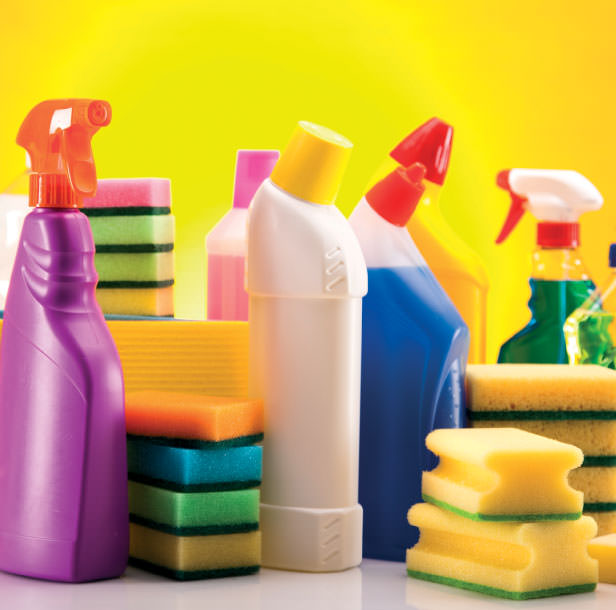 Cleaning Liquids, Sprays, Cloths & Towels