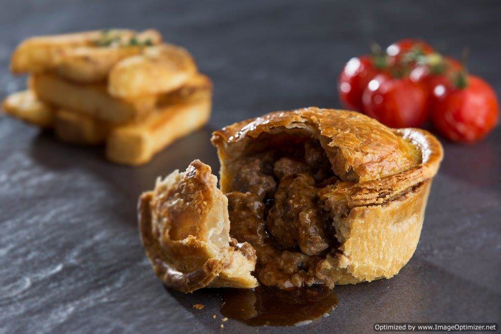 Pies, Pasties & Puddings (Meat & Veg)