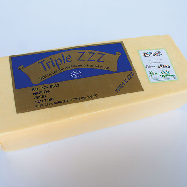 Image of Extra Mature Cheddar 5kg (block)