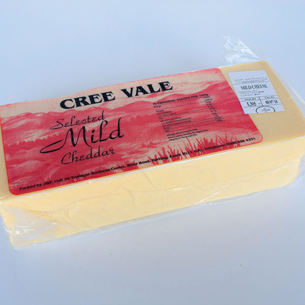 Image of Mild Cheddar (block) - Cree Vale