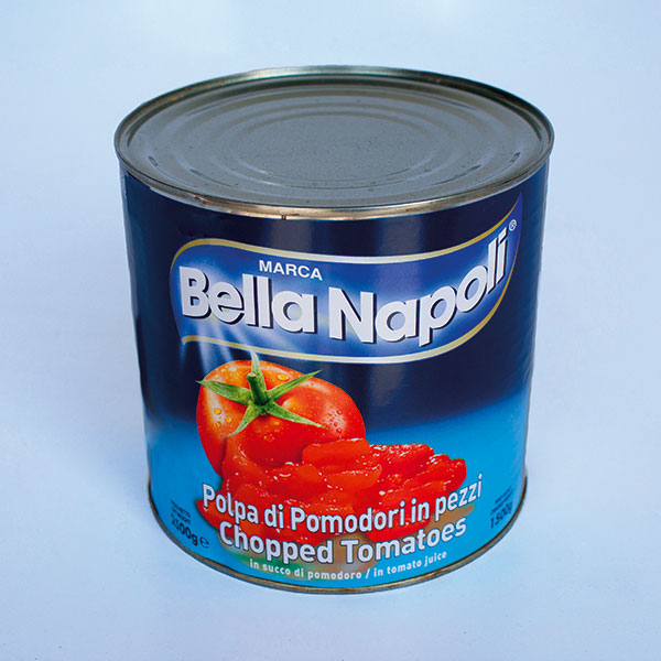 Chopped Tomatoes Tins - 1 case 6 x 2.55kg
