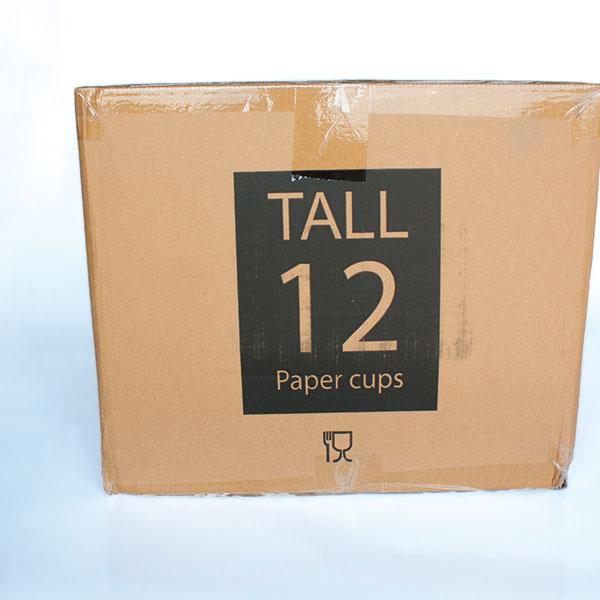 12oz Black Ripple Cups Tall x 500