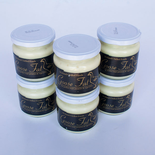 Image of Goose Fat 6 x 160g (jars)