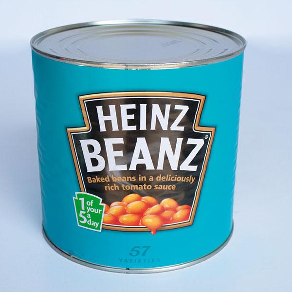 Case of Heinz Baked Beans 2.62kg x 6