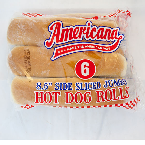 Image of Hot Dog Rolls x 48 Large