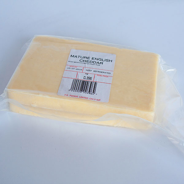 Image of Mature Cheddar wedges