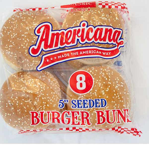 Image of Seeded Burger Buns 5 inch x 1 pack