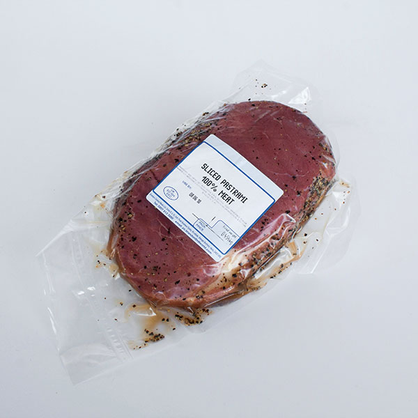 Image of Sliced Pastrami 454g