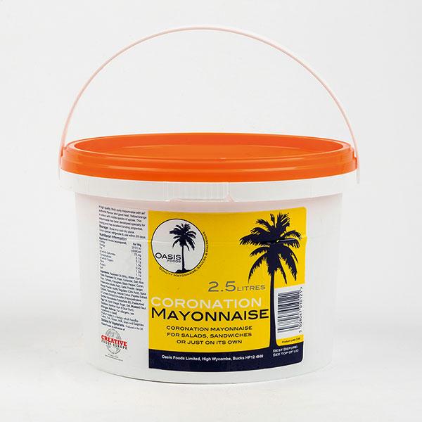 Image of Oasis Coronation Mayonnaise 2.5 litre