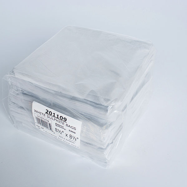 Image of 8.5 x 8.5 Take Away Bags x 1000