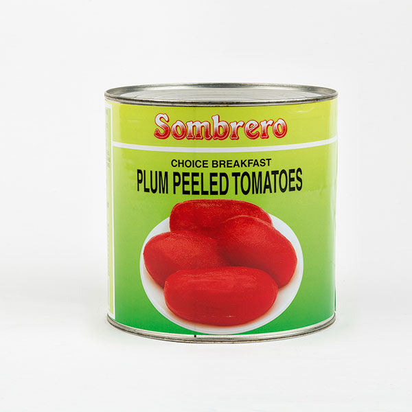 Spanish Plum Tomatoes Tin 2.5kg