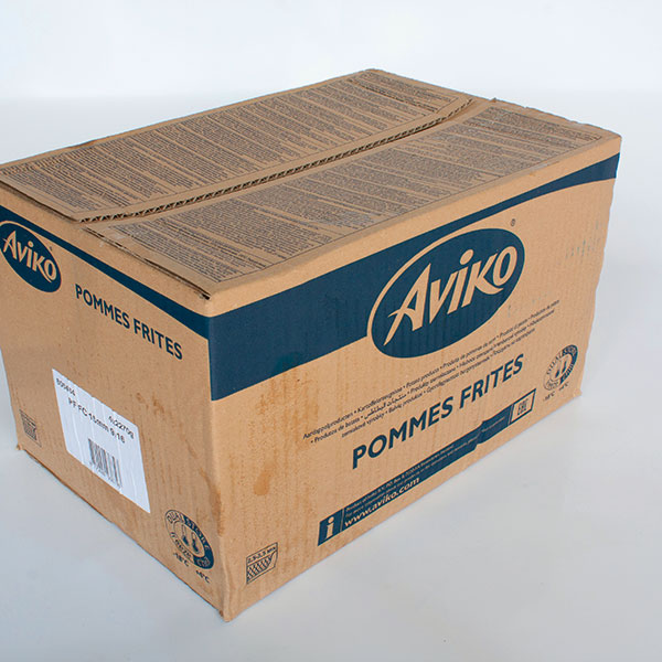 Box of Aviko 9/16 , 15mm Chips 4 x 2.27kg