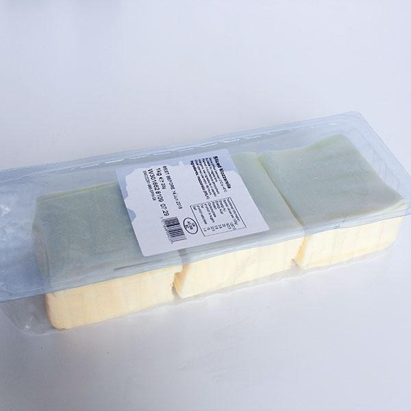 Sliced Mozzarella - 1kg