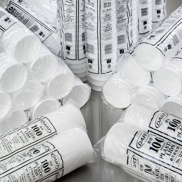 Image of 12oz Poly Cups White 355ml ( DART ) 1000
