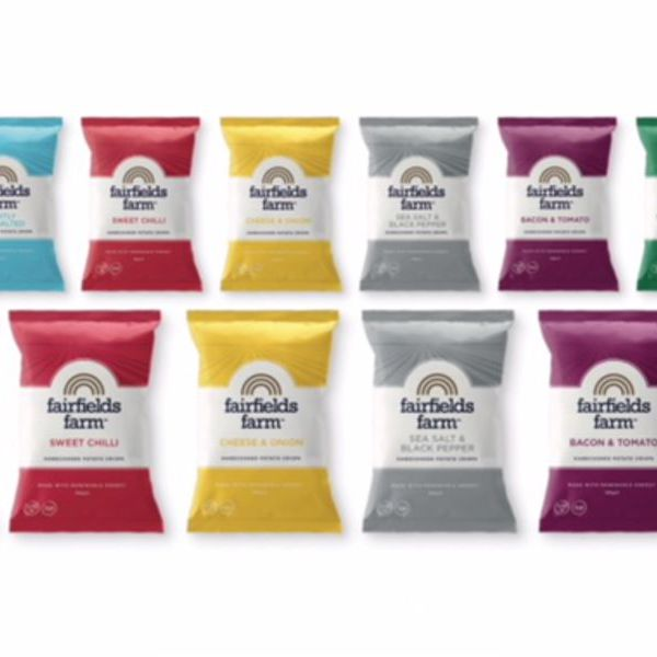 Image of Fairfields Crisps Mixed Box of our 6 Flavours (24)