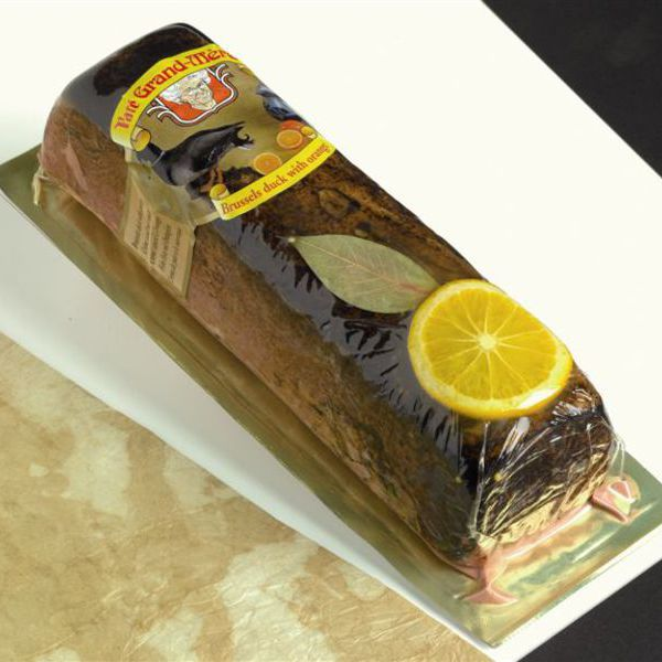Duck & Orange Pate 1kg log