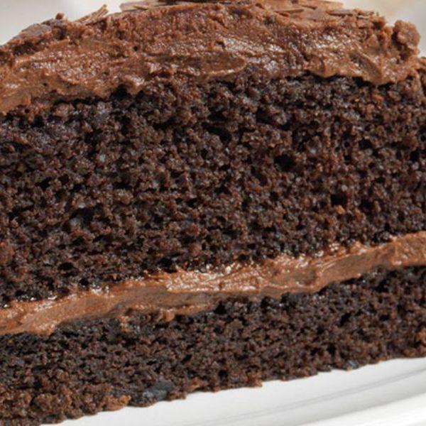 Image of Naughty 'Chocolate' Cake. Gluten Free