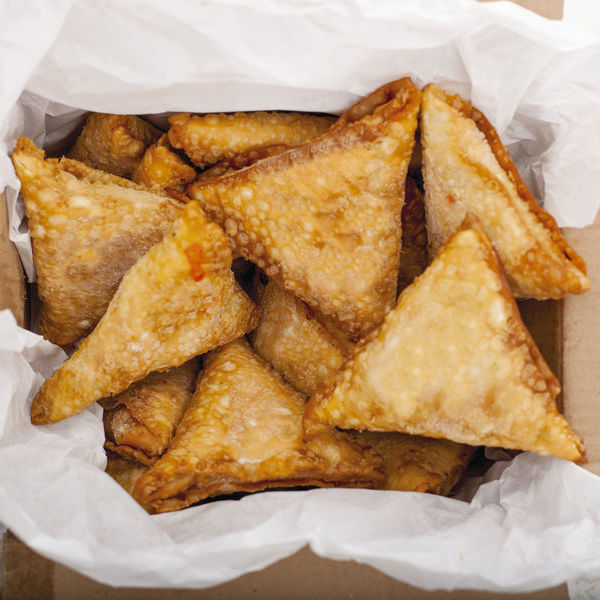 Large lamb samosa