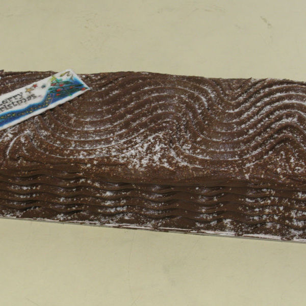 Image of Christmas Yule Log 2kg