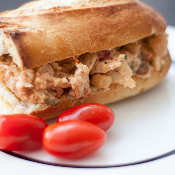 Moroccan Chicken Dry Sandwich Filling