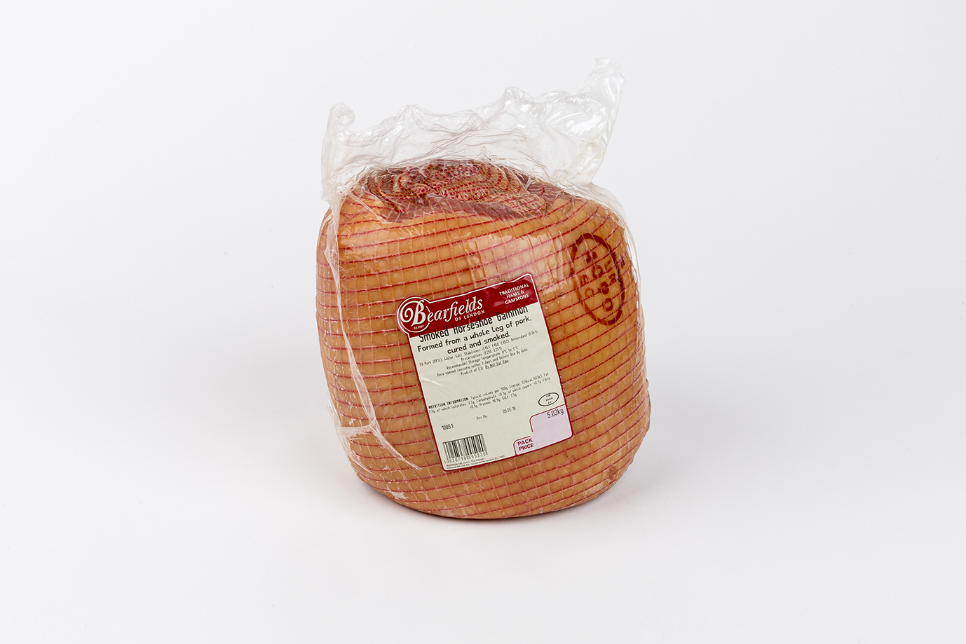 Image of CHRISTMAS - Smoked Horseshoe Gammon