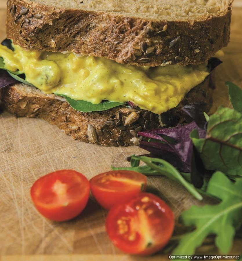 Coronation Chicken Sandwich Filling