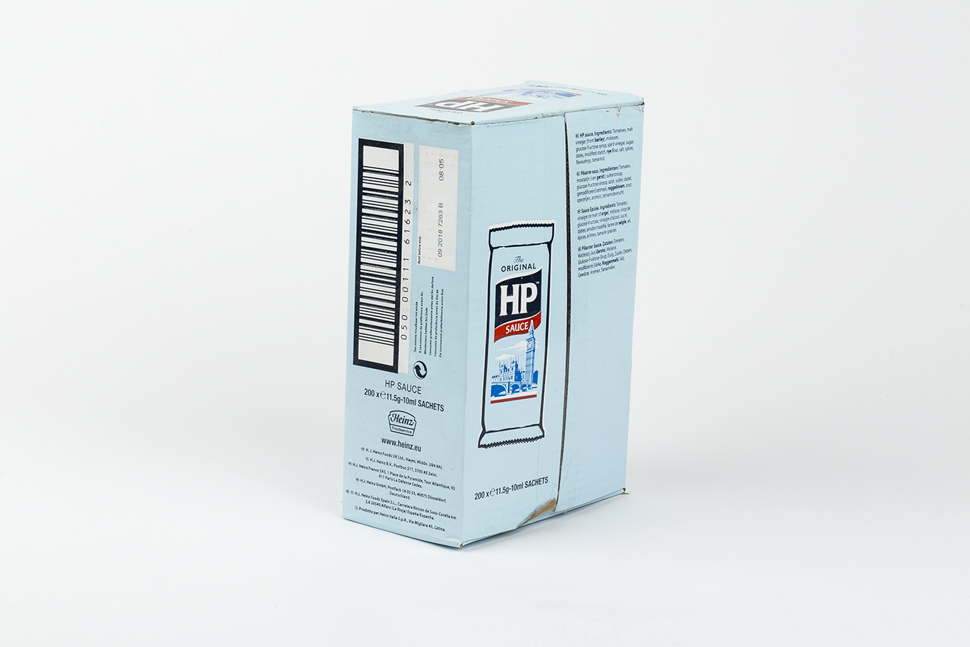 Image of HP Brown Sauce Sachets x 200
