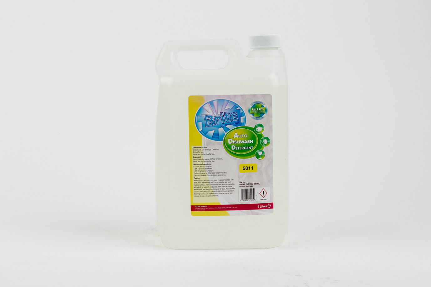 Dishwasher Liquid 5 ltr